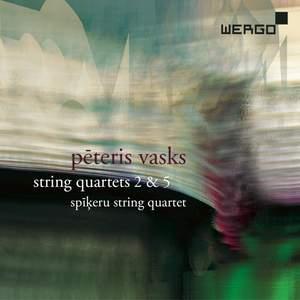 Peteris Vasks: String Quartets Nos. 2 & 5 Product Image
