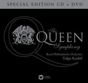 Kashif: The Queen Symphony (Special Edition CD + DVD)