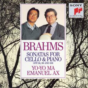 Brahms: Sonatas for Cello & Piano