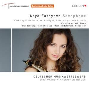 Asya Fateyeva: Saxophone