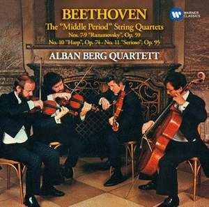 Beethoven: The 'Middle Period' Quartets