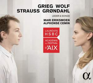 Lieder and Songs: Mari Eriksmoen & Alphonse Cemin