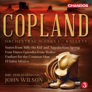 Copland: Orchestral Works, Vol. 1 - Ballets