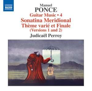 Ponce: Guitar Music Vol. 4