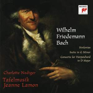 WF Bach: Sinfonias, Suite in G Minor & Harpsichord Concerto