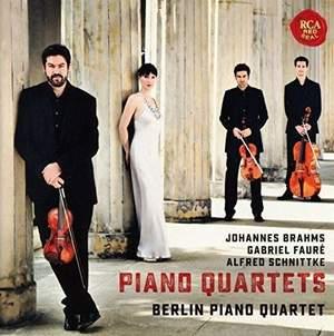 Fauré, Brahms & Schnittke: Piano Quartets