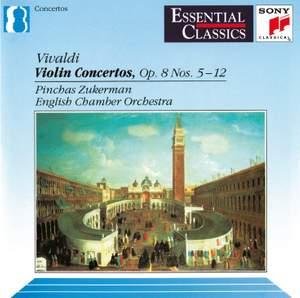 Vivaldi: Violin Concertos Nos. 5-12