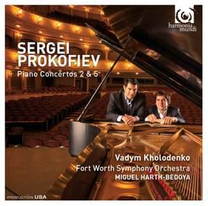 Prokofiev: Piano Concertos Nos. 2 & 5 Product Image