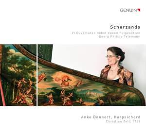 Scherzando: 6 Overtures for keyboard by Telemann Product Image