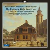 Johann Ernst of Saxe-Weimar: Complete Violin Concertos