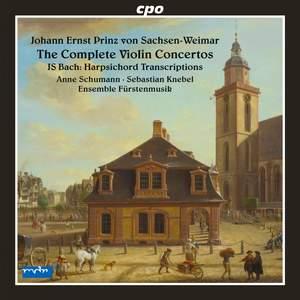 Johann Ernst of Saxe-Weimar: Complete Violin Concertos Product Image