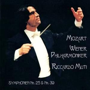 Mozart: Symphonies Nos. 25 & 39