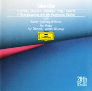 Takemitsu: Quatrain, A flock descends & other works