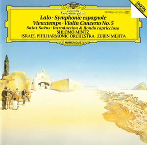 Lalo, Vieuxtemps & Saint-Saens: Works for violin & orchestra