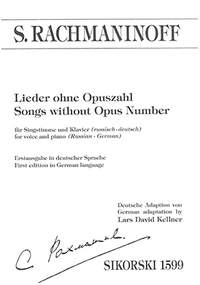 Rachmaninoff, S W: Songs without Opus Number