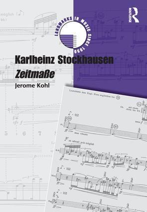 Karlheinz Stockhausen: Zeitmasse