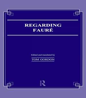 Regarding Faure