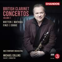 British Clarinet Concertos, Vol. 2