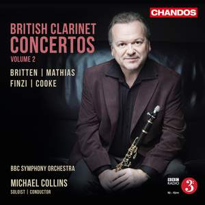 British Clarinet Concertos, Vol. 2