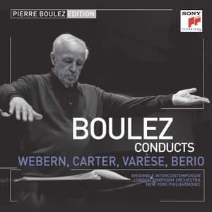 Pierre Boulez Edition: Webern, Varese & Berio