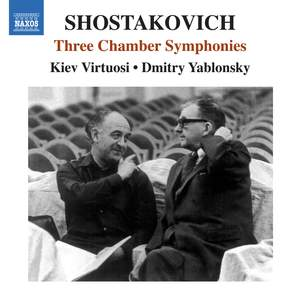 Shostakovich: Three Chamber Symphonies Product Image
