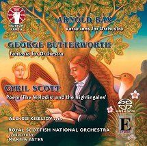 Martin Yates conducts Cyril Scott, Arnold Bax & George Butterworth