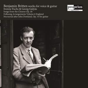 Britten: Works for Voice & Guitar