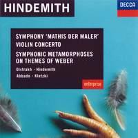 Hindemith: Violin Concerto, Symphonic Metamorphoses & Symphony 'Mathis der Maler'