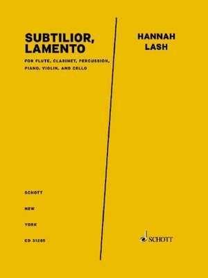 Lash, H: Subtilior, Lamento