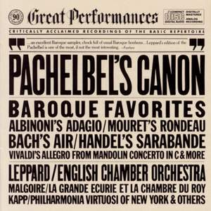 Great Baroque Favorites: Pachelbel's Canon Product Image