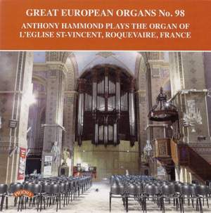 Great European Organs No. 98: L'Eglise St. Vincent, Roquevaire, France