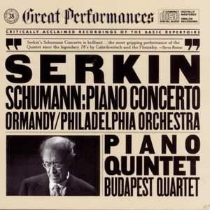 Schumann: Piano Concerto and Piano Quintet