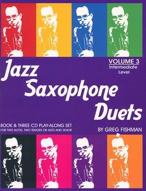 Fishman, G: Jazz Saxophone Duets 3
