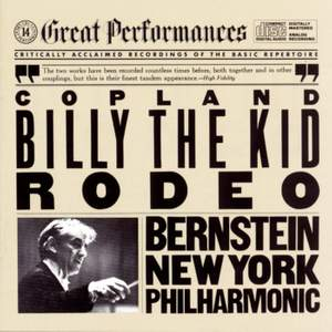 Copland: Four Dance Episodes from Rodeo & Billy the Kid Suite