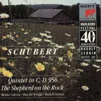 Schubert: Quintet in C Major, The Shepherd on the Rock