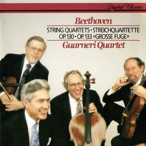 Beethoven: String Quartet No. 13 & Grosse Fuge in B flat major