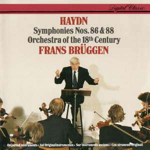 Haydn: Symphonies Nos. 86 & 88