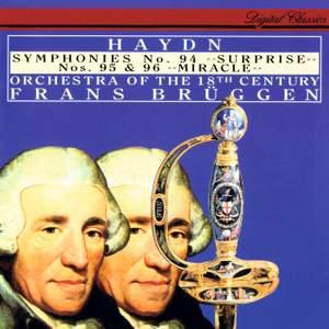 Haydn: Symphonies Nos. 94 - 96