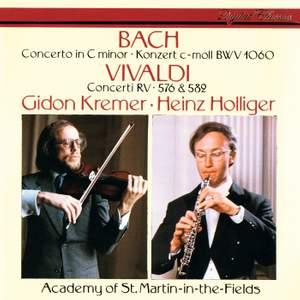 Bach & Vivaldi: Three Concertos