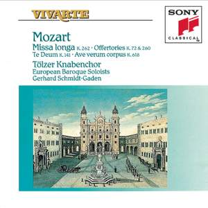 Mozart: Missa Longa & other choral works