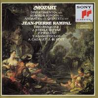 Mozart: Divertimento K334 & other chamber works