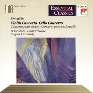 Dvorák: Cello Concerto & Violin Concerto Product Image