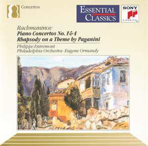 Rachmaninoff: Piano Concertos Nos. 1 & 4; Rhapsody on a Theme of Paganini Product Image