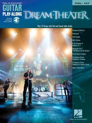 Dream Theater: Dream Theater Guitar Play-Along Vol.167