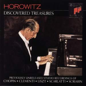 Horowitz: Discovered Treasures (1962-1972)