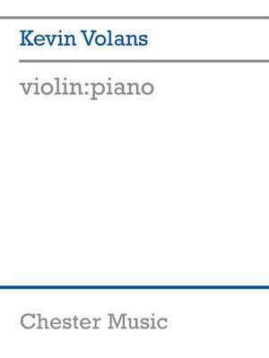 Kevin Volans: Kevin Volans: violin:piano