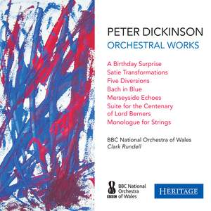 Peter Dickinson: Orchestral Works Product Image