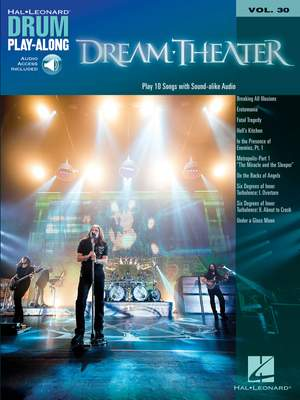 Dream Theater: Dream Theater Drum Play-Along Volume 30