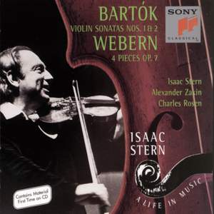 Bartók: Violin Sonatas & Webern: Four Pieces for Violin and Piano