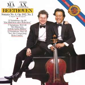 Beethoven: Cello Sonata No. 4 & Variations for cello & piano (Remastered)